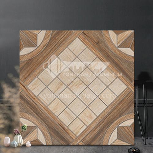 European-style pastoral antique brick balcony garden courtyard floor tiles-WLKY7102A 400*400mm