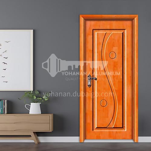 Classic style deep carved oak solid wood door practical room door