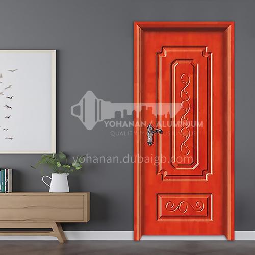 Carved style oak solid wood door room door 20