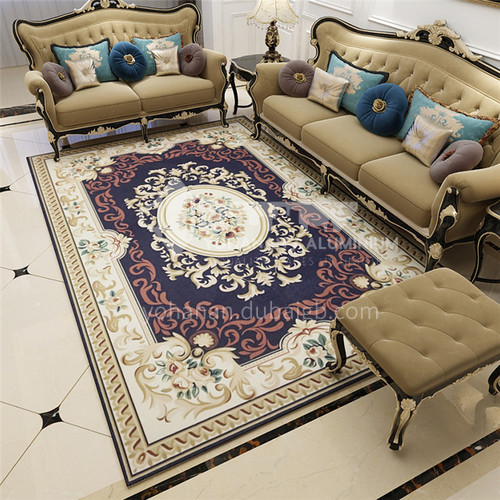 Luxury European American jacquard carpet European style carpet living room family bedroom American style bedside rug 0060
