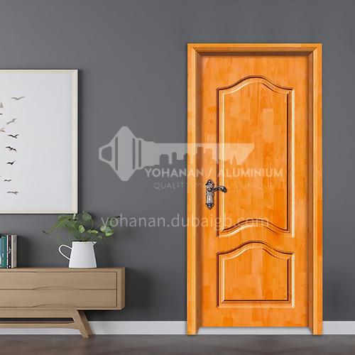 Simple style oak deep carved door solid wood door room door