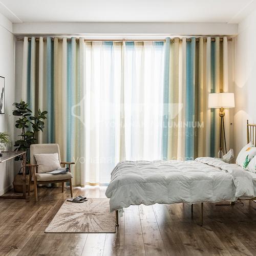 Curtain simple modern living room wild 2020 new Mediterranean style DFSK-DZHJB64
