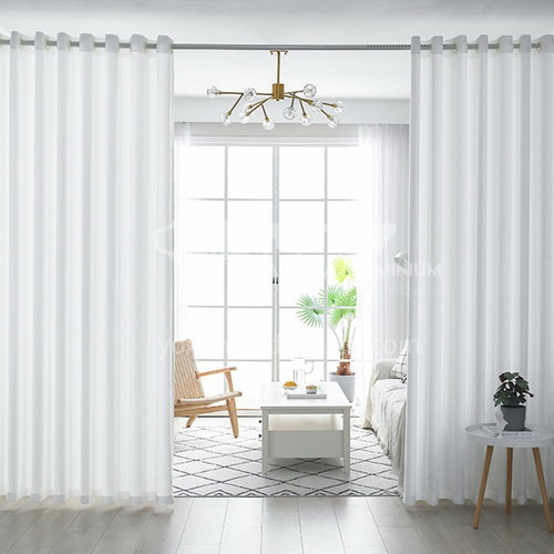 Modern minimalist style high quality white window screen DFSK-LSBB47