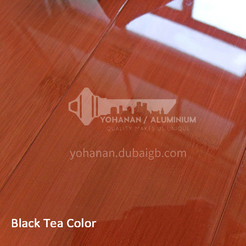 Bamboo floor ZDB-5 red