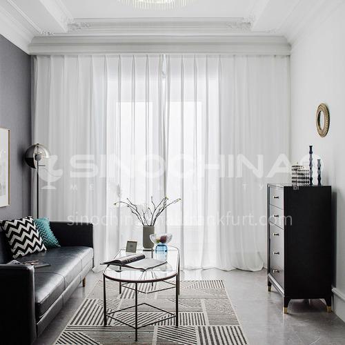 Modern minimalist style, high-quality dark-grained curtain screen DFSK-MSS35