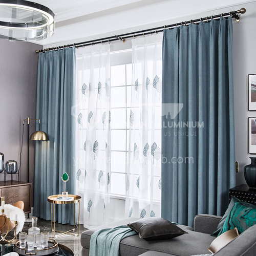 2021 new chenille curtain shading DFSK-MQXNE59