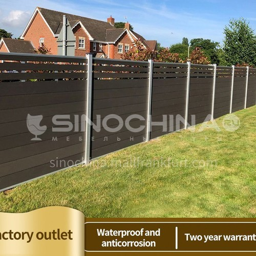 Outdoor waterproof and fireproof WPC wall panel SJ-01