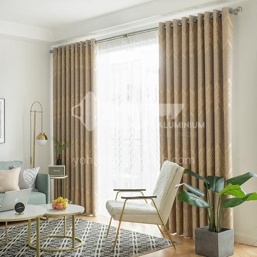 2021 new curtain modern Nordic style light luxury high quality curtain DFSK-NPLHALSL57