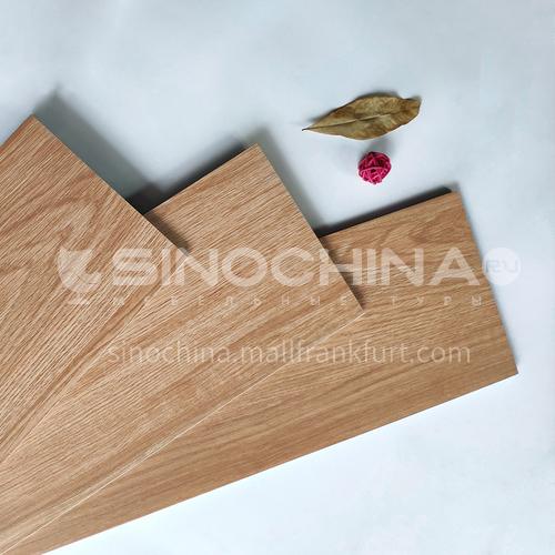 Nordic all-ceramic wood grain tile living room balcony floor tile-MY22090 200mm*1000mm