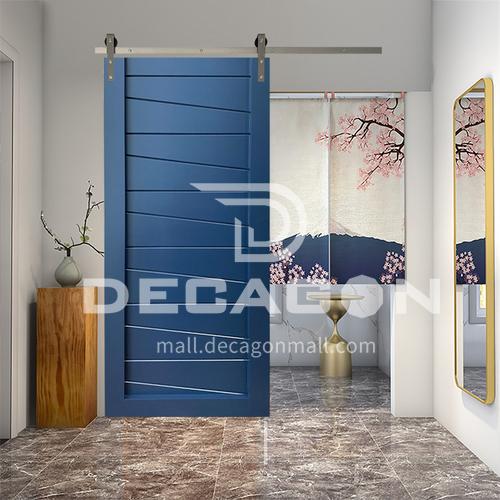 Modern New Barn Door Sliding Door Kitchen Sliding Wooden Door Hanging Sliding Door Toilet Door25