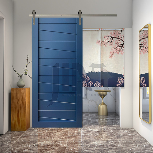 Modern New Barn Door Sliding Door Kitchen Sliding Wooden Door Hanging Sliding Door Toilet Door25