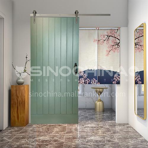 G modern new barn door sliding door kitchen sliding wooden door hanging sliding door toilet door 26