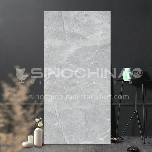 Whole body marble glazed tile simple modern anti-kitchen living room tile-WLK84008 400*800mm