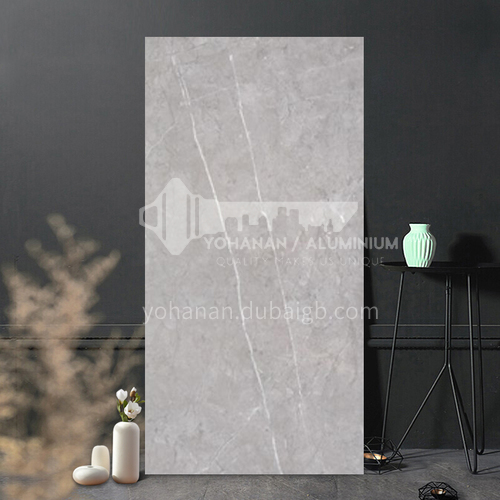 Whole body marble glazed tile simple modern anti-kitchen living room tile-WLK84011 400*800mm