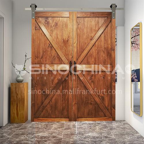 Modern New Barn Door Sliding Door Kitchen Sliding Wooden Door Hanging Sliding Door Toilet Door 27