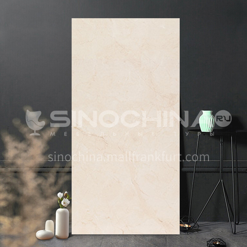 Whole body marble glazed tile simple modern anti-kitchen living room tile-WLKF8Z1013 400*800mm