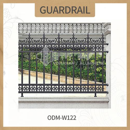 Aluminum fence ODM-W122