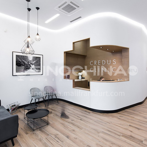 Medical-Minimalist Clinic Design BE1006