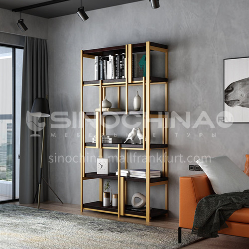 Steel Nordic Multi-layer Rack Bookshelf