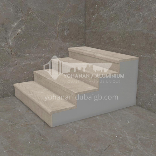 Natural beige classic European marble staircase M-AA14M