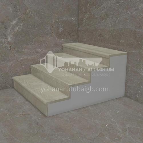 Natural beige classic European marble staircase M-BC20L
