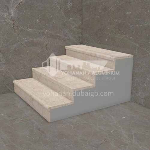 Natural beige classic European hot-selling marble staircase M-J998B