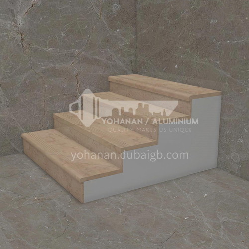Natural beige classic European marble staircase M-MA01H