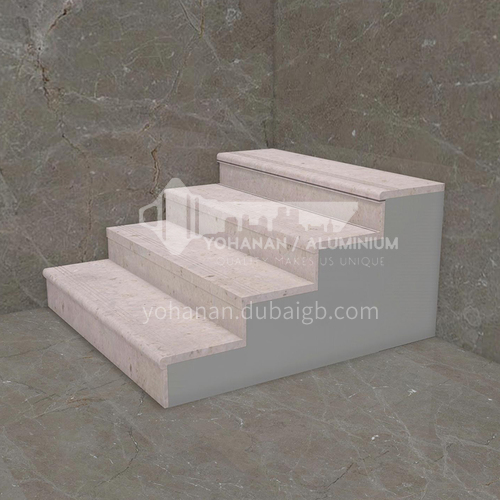 Natural beige classic European hot-selling marble staircase M-YA94T