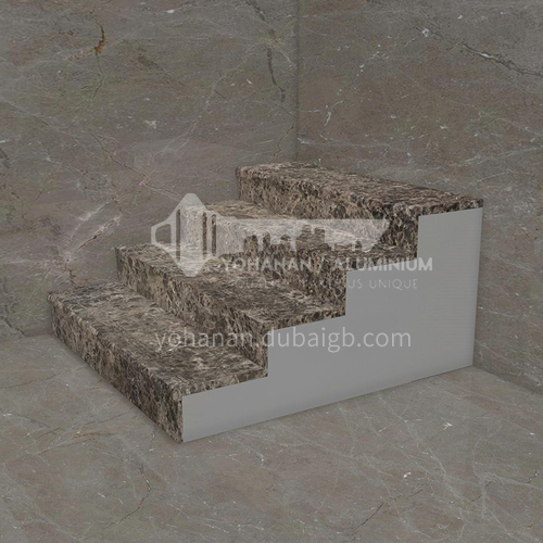 Natural brown European style hot-selling marble staircase M-SA02F