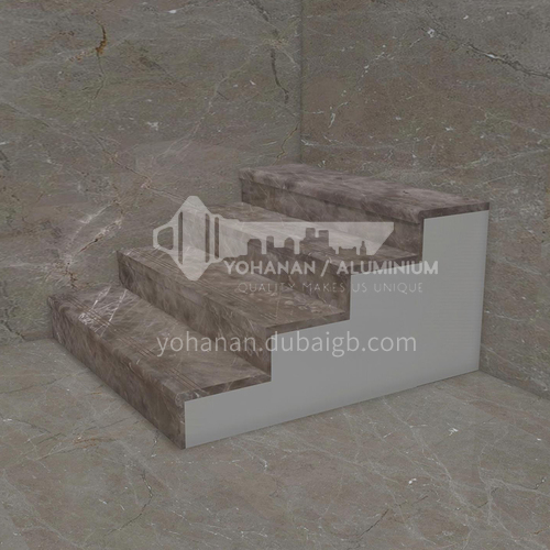 Natural brown hot-selling European style marble staircase M-JA90Z