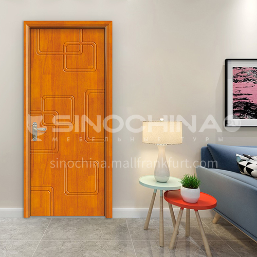 G modern classic oak flat carved door room door interior door kitchen door solid wood door 2
