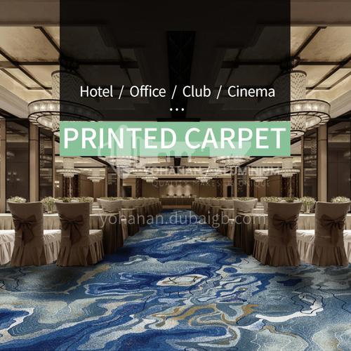 מלון קולנוע / משרד / מועדון פרוייקט סדרת שטיחים מודפסים 2