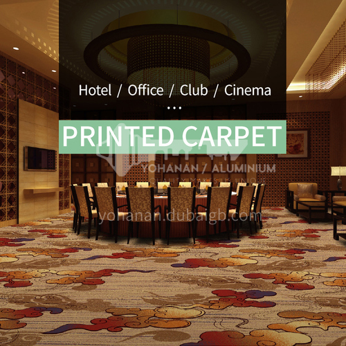 Hotel Club Project printed carpet series 6