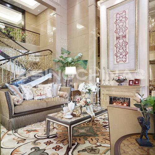 Villa-630㎡ American style villa design VA1015