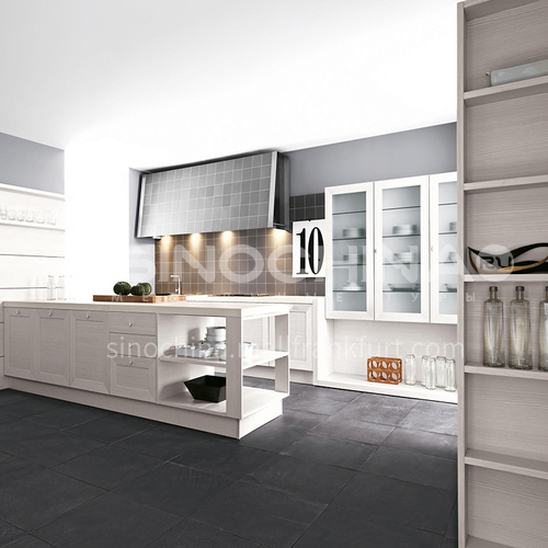 Classical style Kitchen cabinet PVC with HDF-GK-399