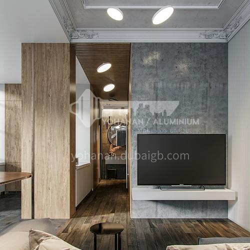 Apartment-91m² Simple American Apartment Design   AAS1008