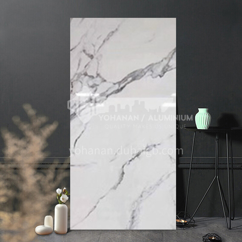 Full body marble villa living room TV background wall slab-WLK240T11 1200mm*2400mm