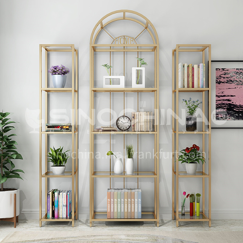 Steel Pipe Welding Nordic Simple Rack Bookshelf