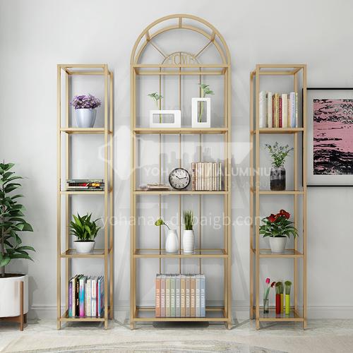 Steel Pipe Welding Nordic Simple Rack Bookshelf