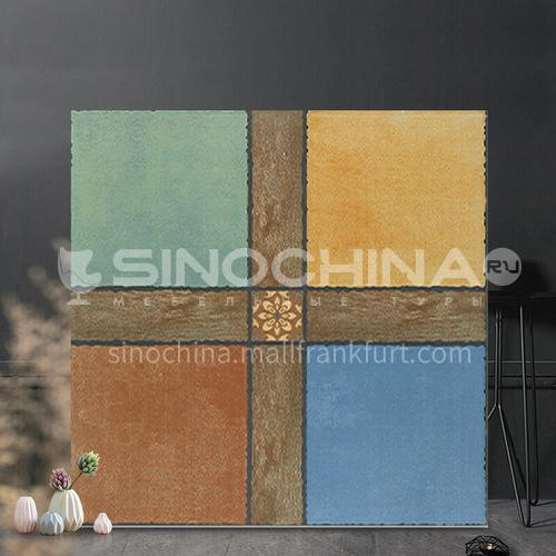 Antique balcony tile cultural tile non-slip wear-resistant courtyard floor tile  wall garden tile-FEZ6H025 600mm*600mm