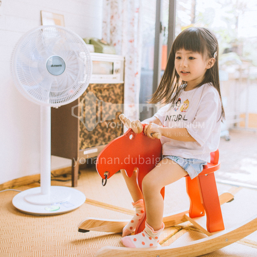 AIRMATE electric fan floor fan household mute province radio station dual purpose DQ000734