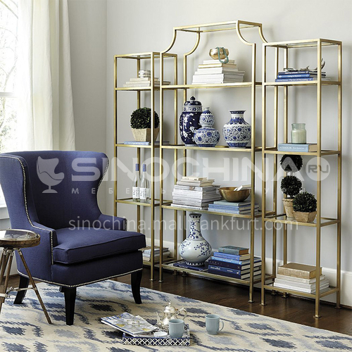 Steel Combination Nordic Simple Rack Bookshelf