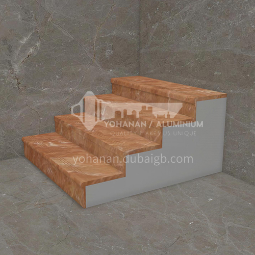Natural red hot-selling marble M-CB90H staircase