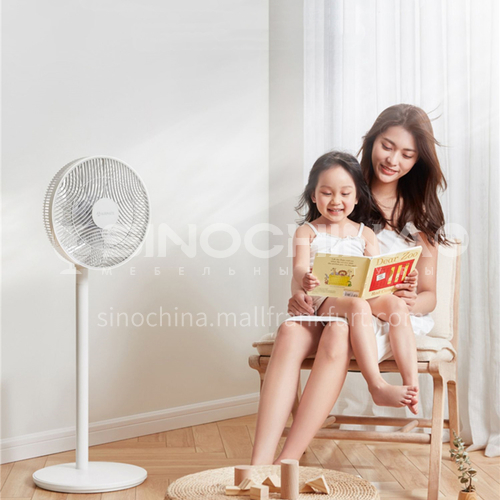 AIRMATE electric fan floor fan vertical silent remote control gale energy saving DQ000738