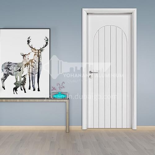 2020 new modern wood door designs oak solid wood door  hotel villa room door  16