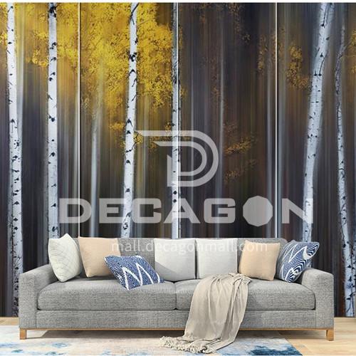 Artistic sense Customized Background Wall BGW142