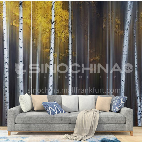 Artistic sense Customized Background Wall BGW142
