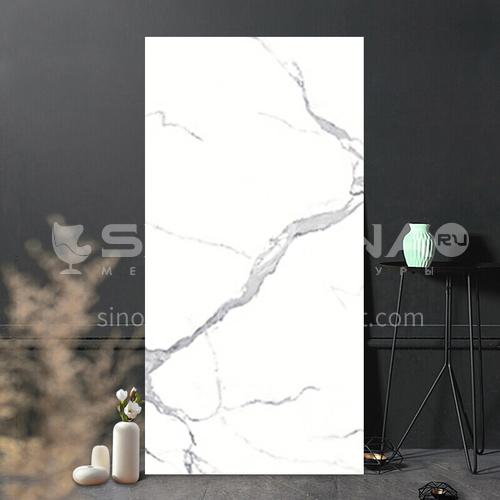 Full body marble villa living room TV background wall slab-WLKJL2412B04 1200mm*2400mm