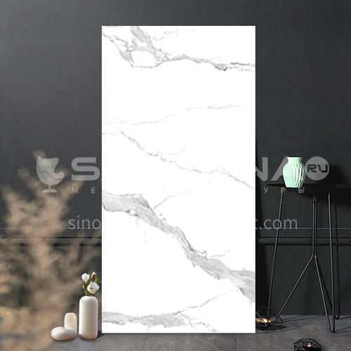 Full body marble villa living room TV background wall slab-WLKJL2412B09 1200mm*2400mm