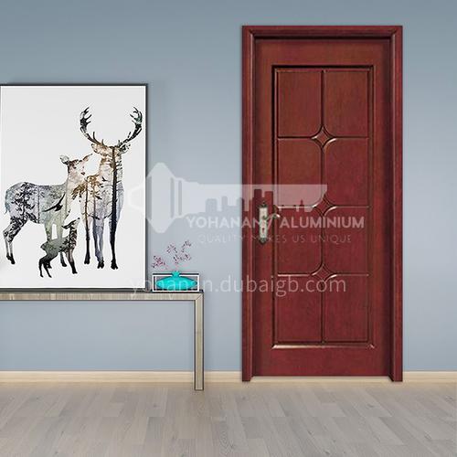 G modern classic oak flat carved door room door interior door kitchen door solid wood door 25
